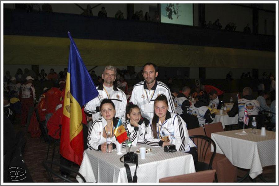 Команда Молдовы на XXIV-ом Чемпионате Мира по дрессировке WUSV WM – 2011